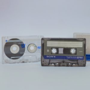Kaseta żelazowa (typ I) – matka wszystkich typów kaset